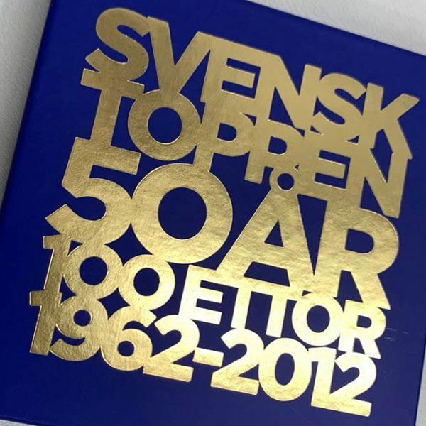 inserto 12x12 con foil oro