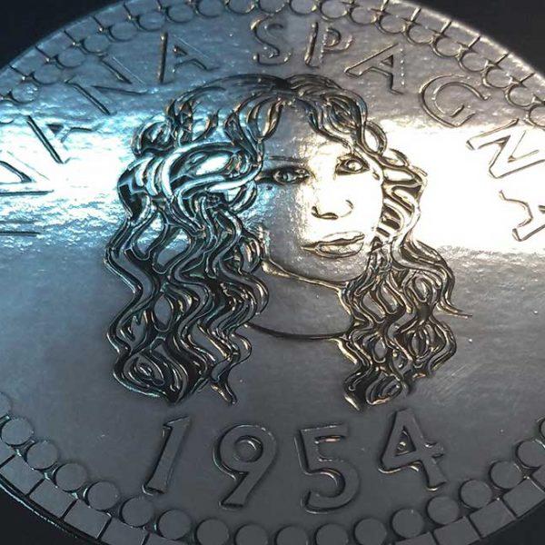laminato argento UV3D